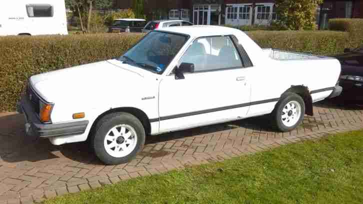 Subaru Mv Brat Brumby Pick Up Car For Sale