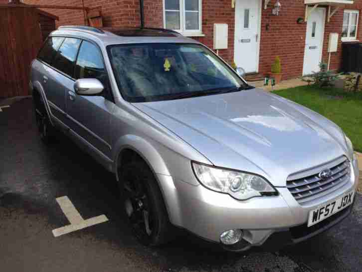 Outback 2.5 57 reg 2008 better then