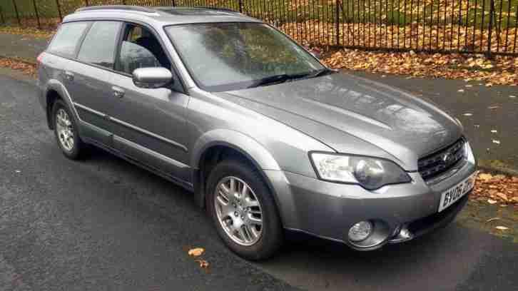 Subaru Outback 2 5 Auto Se 2006 06 Plate Full Leather Awd