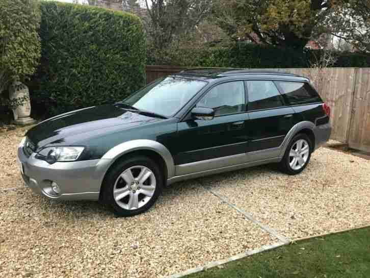 Subaru Outback 3.0. Subaru car from United Kingdom