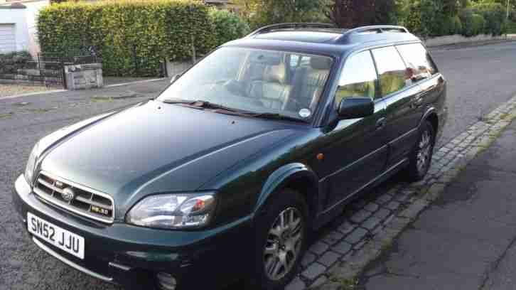 subaru outback h6 3 litre 6 cylinder spares or repair car for sale. Black Bedroom Furniture Sets. Home Design Ideas
