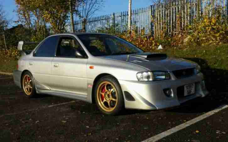 Subaru STI RA. Subaru car from United Kingdom