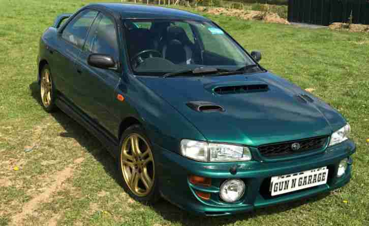 impreza UK Turbo