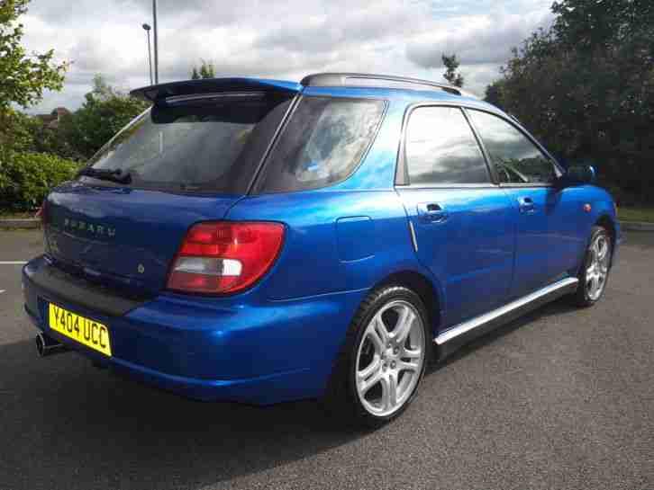 Subaru Impreza Wrx Estate 2001 Uk Car Car For Sale
