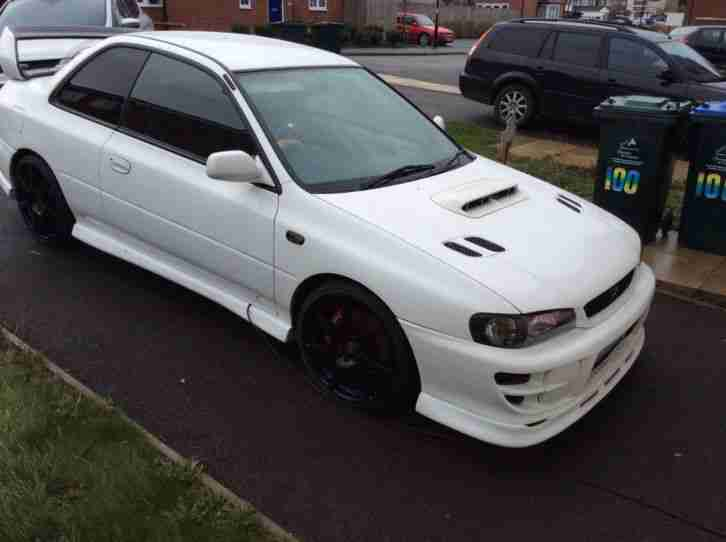 Subaru impreza wrx sti type r 2 door mint condition fully forged engine lots of