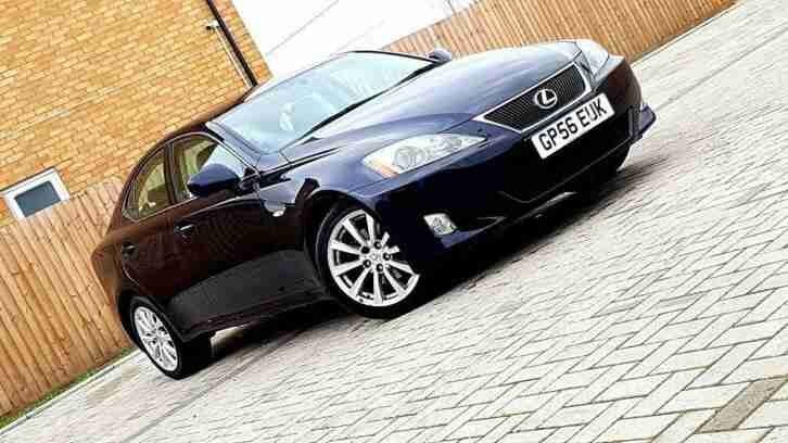 Lexus Super IS. Lexus car from United Kingdom