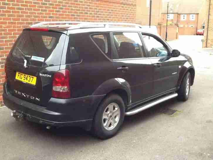 Superb and Excellent condition SSANGYONG REXTON 270 S 5S Auto