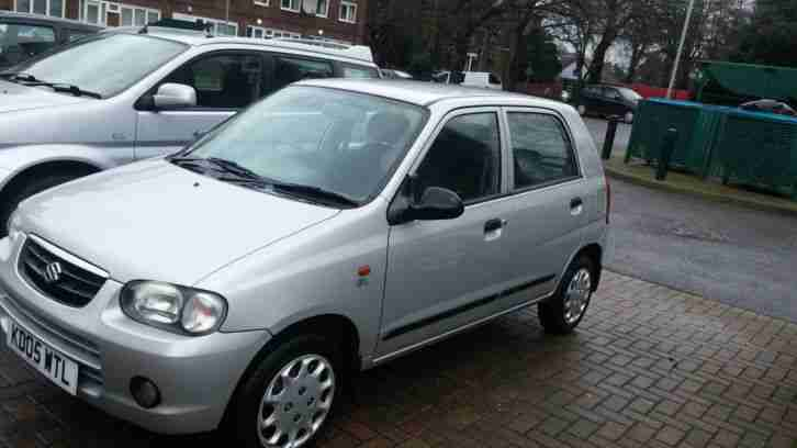 suzuki alto gl 2005 1 0l silver  car for sale