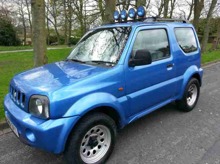 suzuki jimny 1 3 jlx 2001 4x4 blue car for sale. Black Bedroom Furniture Sets. Home Design Ideas