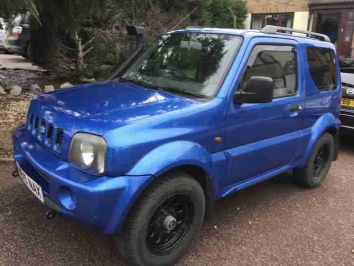 Suzuki Jimny JLX 1.3 4x4 Off roader many new parts