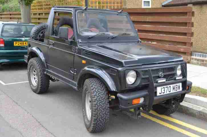 Suzuki Samurai Jeep - possible donor for kit car