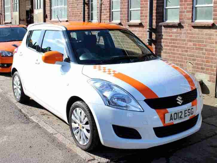 Swift 1.2 SZ3 5dr White Manual 5 Speed