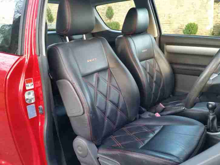 suzuki swift 1 5 glx 2006 56 102bhp 68k miles quilted leather car for sale. Black Bedroom Furniture Sets. Home Design Ideas