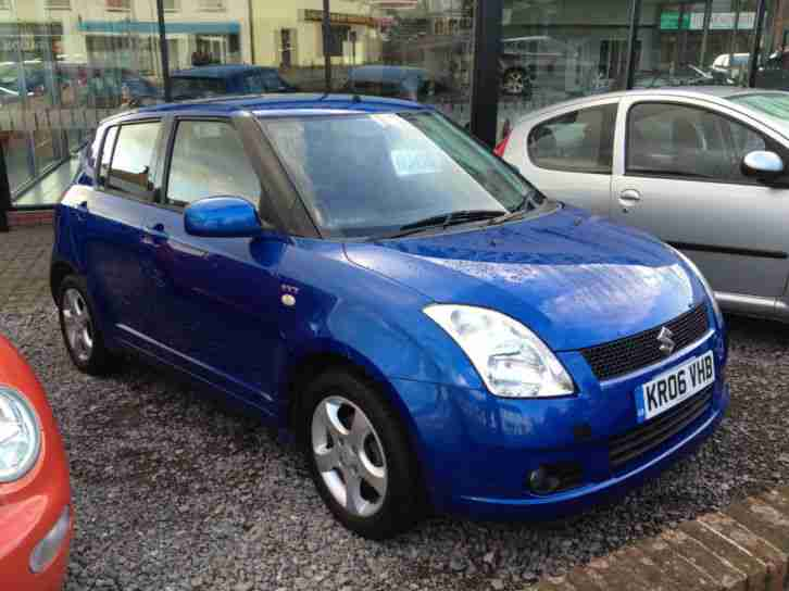 suzuki swift 1 5 glx 2006 blue car for sale. Black Bedroom Furniture Sets. Home Design Ideas