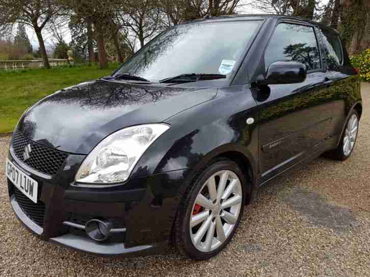 suzuki swift sport 1 6 2007 48000 miles new mot car for sale. Black Bedroom Furniture Sets. Home Design Ideas