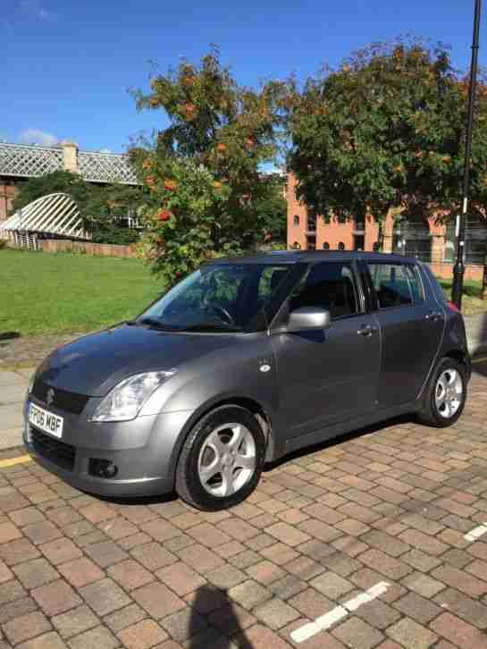 Suzuki Swift VVTS GLX 06 Reg Grey 5 Door 1.5