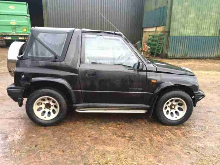 VItara 1996 soft top MOT EXPIRED DEC