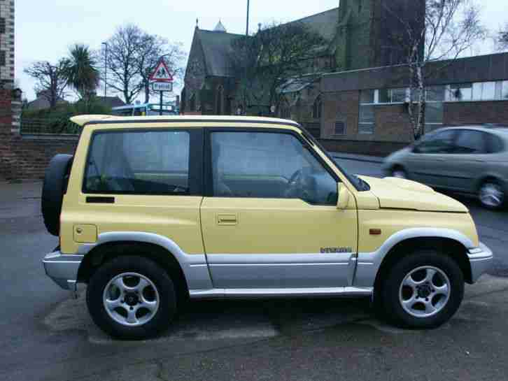 Suzuki Vitara Engine Low Miles