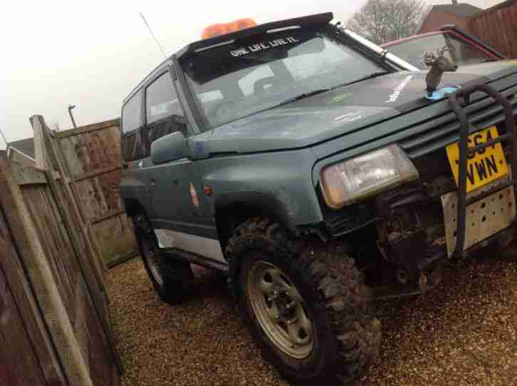 Vitara 1.6 off roader off road mud