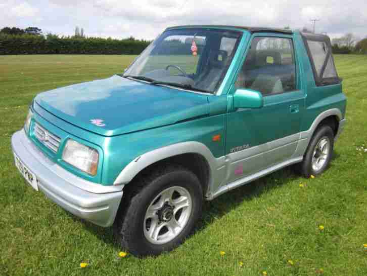 Suzuki Vitara convertible soft top 1999 T JX4U . New hood included. Mot 2018