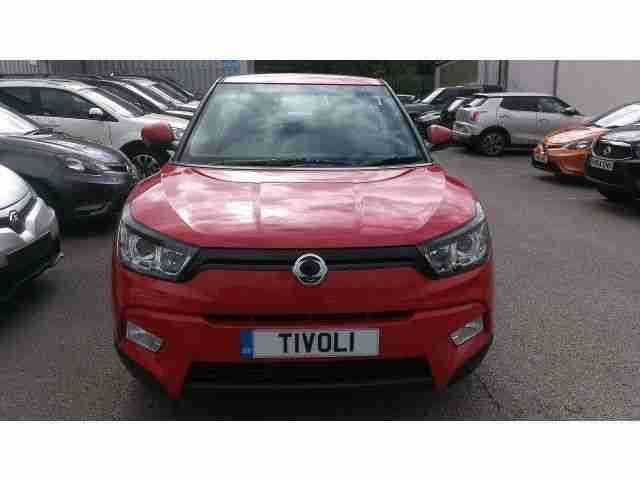 THE NEW SSANGYONG TIVOLI HATCHBACK 1.6 EX 5dr IN BRIGHT RED