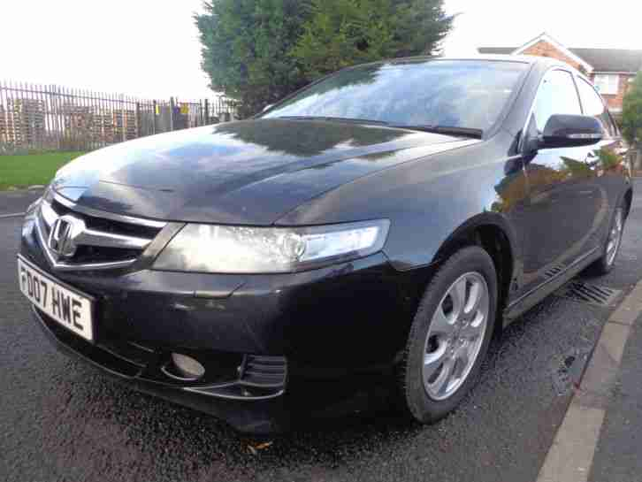 TOP OF THE RANGE~2007 HONDA ACCORD VTEC 2.4 EXECUTIVE AUTOMATIC~LEATHER~SAT NAV