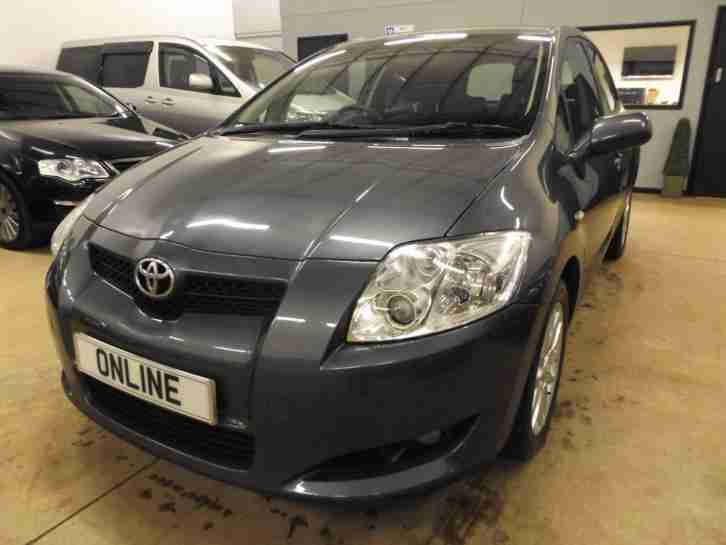 TOYOTA AURIS T3 VVT I Grey Manual Petrol, 2007