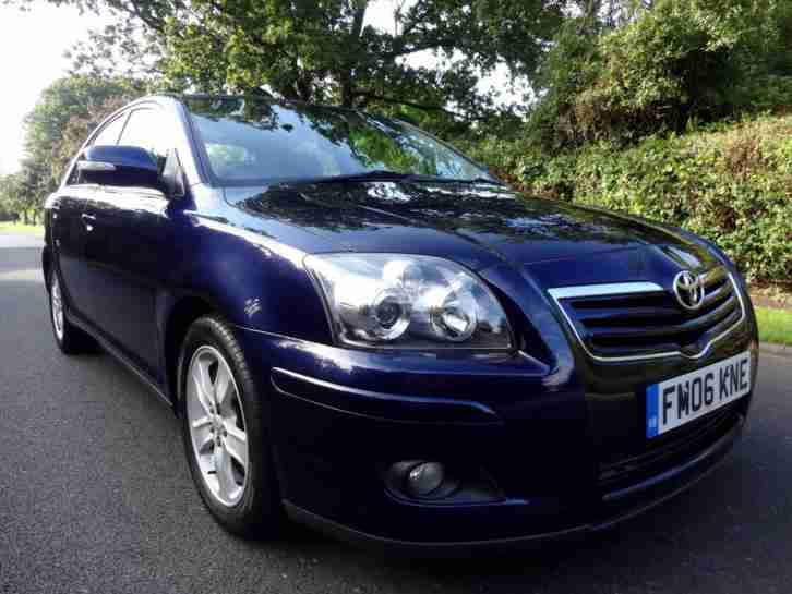 TOYOTA AVENSIS 1.8 VVT-i T3-X - 5 DOOR - 2006 - BLUE ** NEW SHAPE + FACE LIFT **