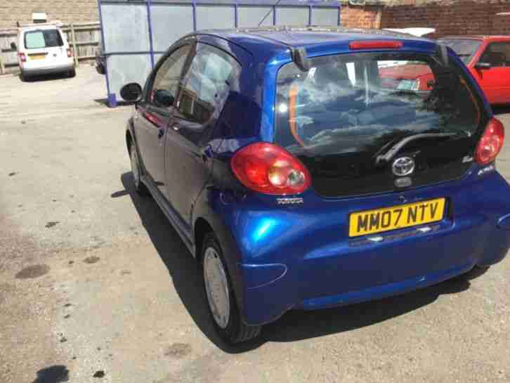 TOYOTA AYGO BLUE 1.0 , 2007 Low milage