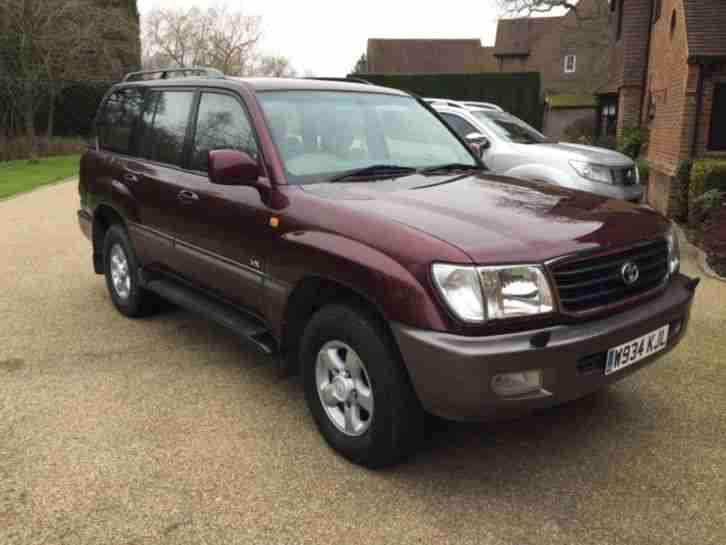 Toyota LANDCRUISER AMAZON. Toyota car from United Kingdom