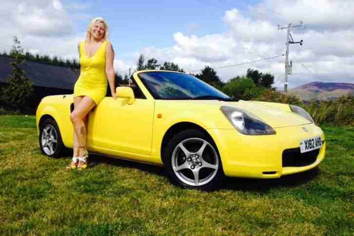 Toyota Mr2 Roadster Vvti 6 Speed Convertable Car For Sale
