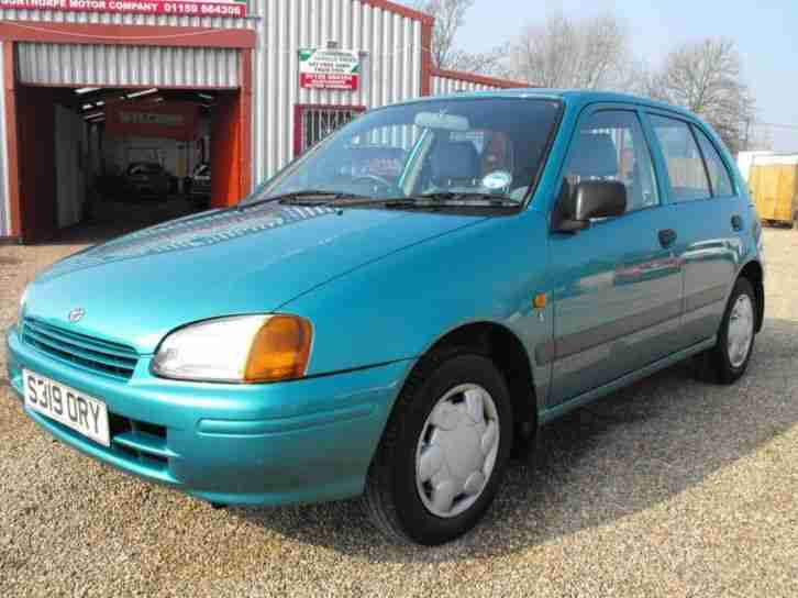 toyota starlet s 1998 petrol manual in turquoise car for sale rh bay2car com haynes manual toyota starlet 1998 haynes manual toyota starlet 1998