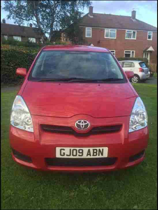 TOYOTA VERSO 1.8 V-MATIC T2 PETROL MANUAL