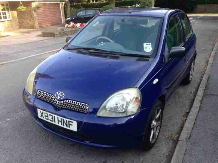 toyota yaris 2001 gls 1 0 spares or repair car for sale. Black Bedroom Furniture Sets. Home Design Ideas