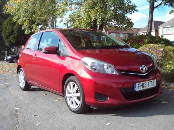TOYOTA YARIS TR 1.3 2013 COMPLETE WITH M.O.T HPI CLEAR INC WARRANTY