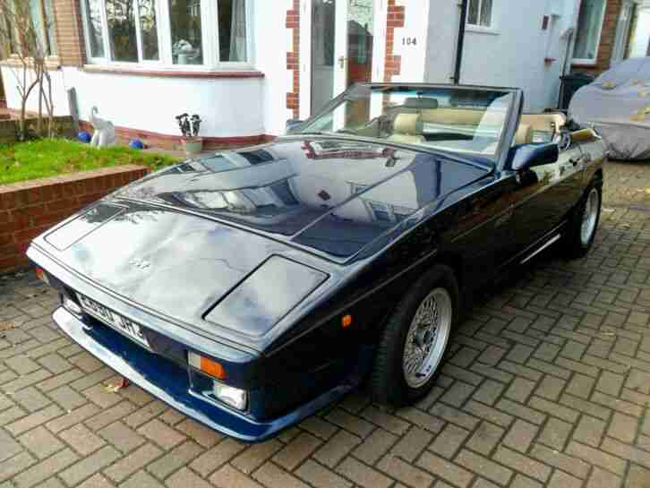 TVR 350i 1988. TVR car from United Kingdom