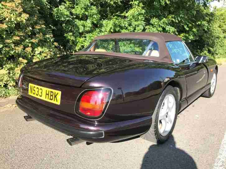 TVR CHIMAERA 500HC 1996 2 PREVIOUS OWNERS FULL TVR HISTORY 32,000 MILES