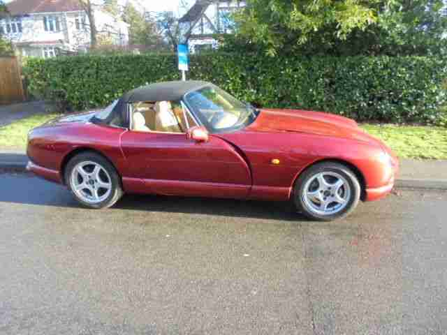 TVR CHIMAERA WITH LOW MILES WITH POWER STEERING AND LOW MILES UNMOLESTED