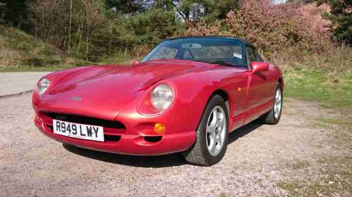 TVR Chimaera 400. TVR car from United Kingdom
