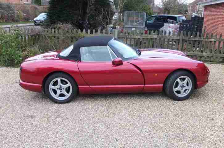 TVR Chimaera 430. TVR car from United Kingdom