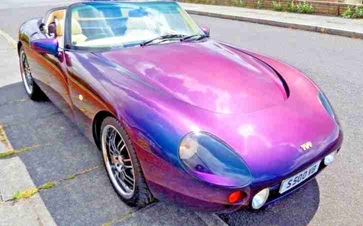 TVR . TVR car from United Kingdom