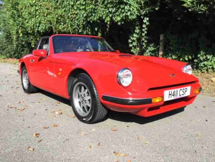TVR S3 2.9 V6 full nut and bolt restoration