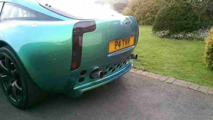 TVR T350C Chameleon Green Excellent Condition Inside and Out inc Chassis f.s.h