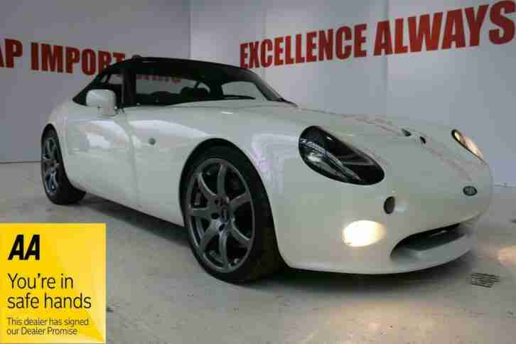 TVR Tamora Cerbera Chimaera Tuscan PEARL white gold purple. AMAZING PROVENANCE!!