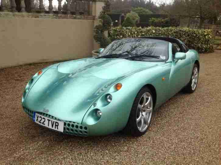TVR Tuscan Convertible - 2001 - Green - Full History - Private plate