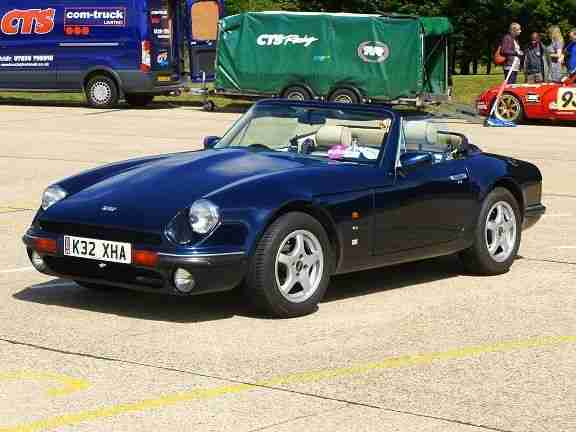 tvr v8s s series 4 0 rover v8 1993 blue not griffith chimaera car for sale. Black Bedroom Furniture Sets. Home Design Ideas