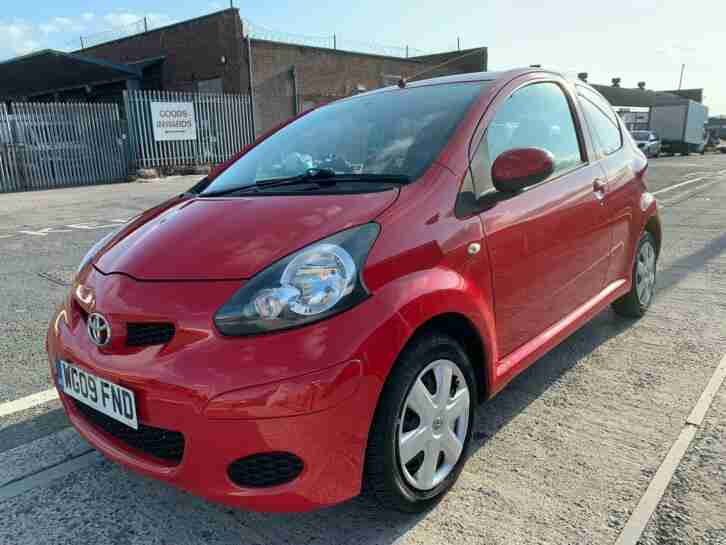 Toyota AYGO 1.0. Toyota car from United Kingdom