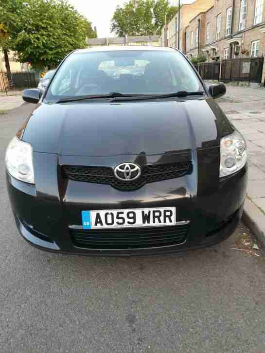 Toyota Auris 1.6. Toyota car from United Kingdom
