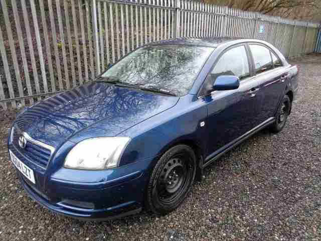 Toyota Avensis 1.8. Toyota car from United Kingdom