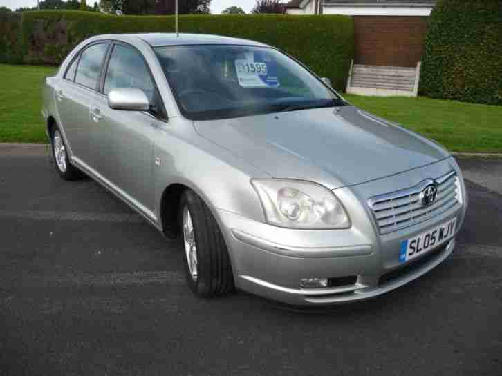 Toyota Avensis 1.8 VVT i T3 X 5 DOOR HATCH Low Mileage MOT to 1st August 2018